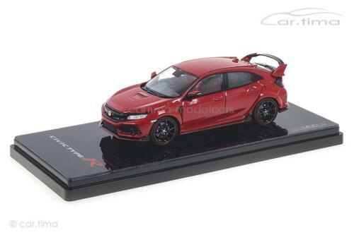 Honda Civic Type R rally red-TSM 1:43 tsm430273 rhd
