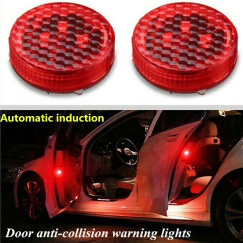 Wireless LED Car Door Open Warn Flash Lights Waterproof Anti Collid SignalMAE DP