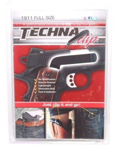 1911 Full Size Models-Pocket Holster//Concealed Carry Clip-Techna Clip COMBR NEW