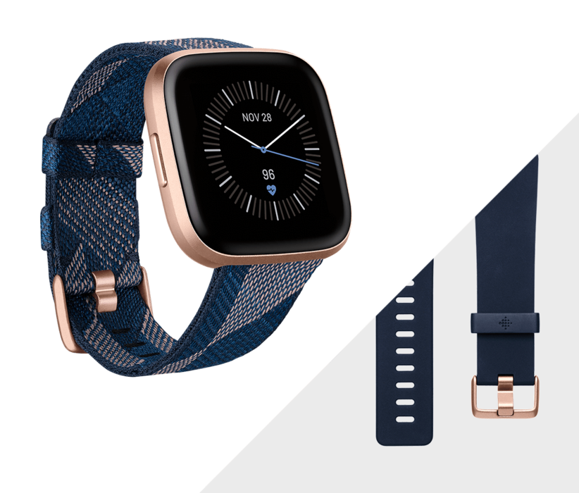 Fitbit Versa 2 Health and Fitness Smartwatch - NEW Versa2 10