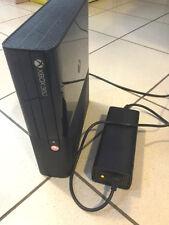 xbox 360 slim 4gb console non funzionante led rosso + alimentatore funzionante