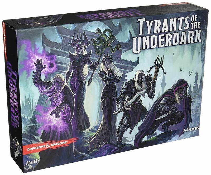 Dungeons and Dragons tiranni del sottosuolo BOARD GAME