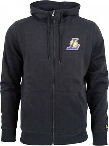 New-Era-NBA-Los-Angeles-Lakers-Team-Apparel-Zip-Hoodie-Grey
