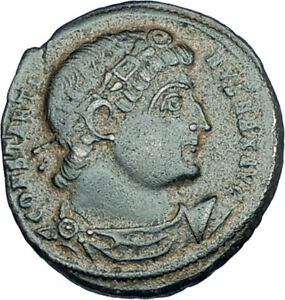 CONSTANTINE-I-the-GREAT-330AD-Authentic-Ancient-Roman-Coin-w-SOLDIERS-i65983