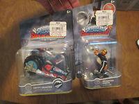 Skylanders Superchargers Lot Frightful Fiesta & Crypt Crusher Set Complete