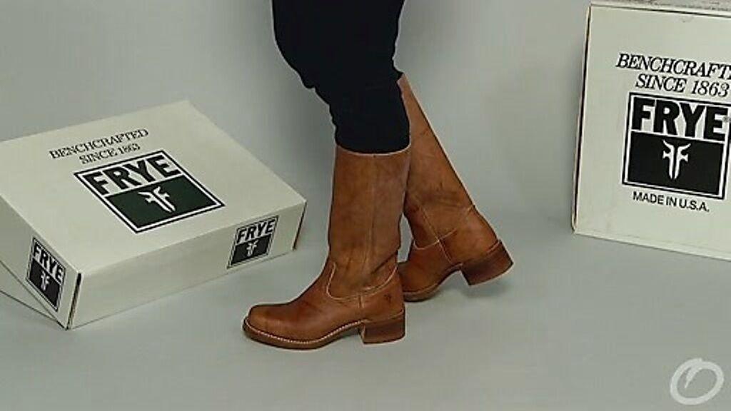 Excelente condición usada  Mint   420 Frye para para para mujer botas de campus-marrón - 9.5 M  producto de calidad