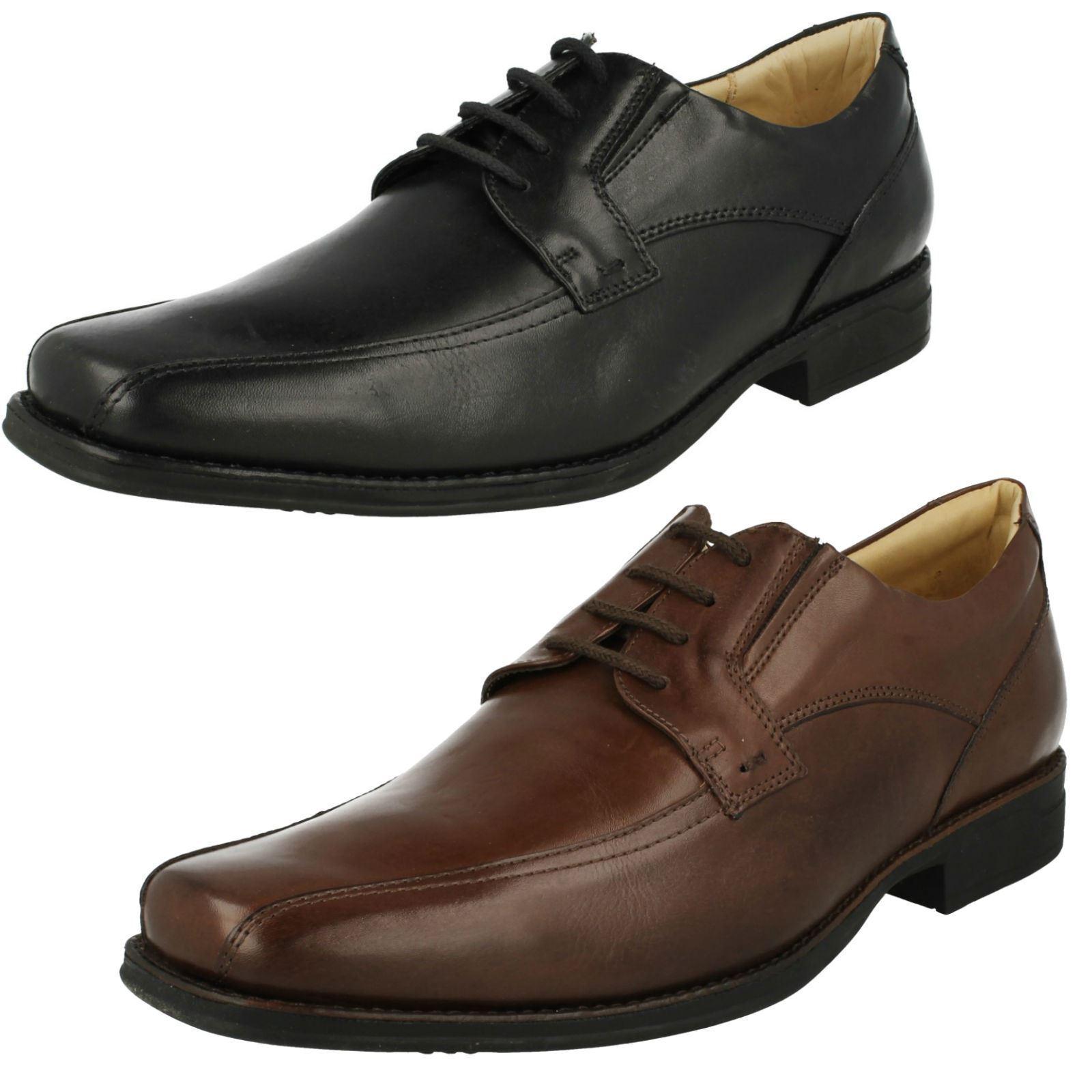 Mens Anatomic Smart Formal Lace Up Shoes Platina