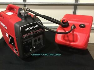 Image Is Loading Honda Eu2200i Generator 6 Gal Single Line Extended