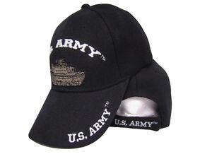 La imagen se está cargando EEUU-ESTADOS-UNIDOS-USA-Army-Tank-Bordado-Negro- 21612c98ce1