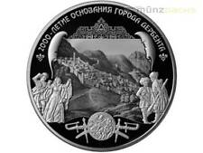 25 Rubel 2000 Jahre Gründung Derbent Dagestan Russland 5 oz Silber PP 2015