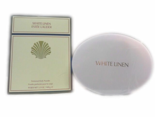 Estee Lauder 'White Linen' Perfumed Bath Body Dusting Powder Women's 3.5oz NIB