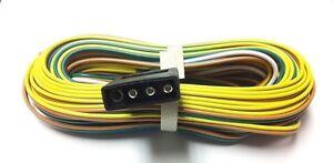 image is loading 29-5-ft-trailer-wiring-harness-35ft-split-