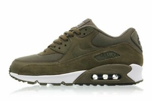 Detalles acerca de Nike Air Max 90 Essential Para Hombres Zapatos 537384 201 Verde OscuroOliva Talla 9.5, 11.5 mostrar título original