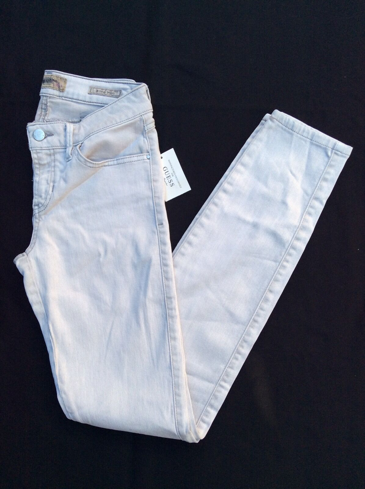 Guess Jeans Brittney Skinny Taupe Wash Size 27