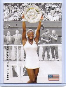 SERENA-WILLIAMS-2003-NETPRO-EVENT-EDITION-ROOKIE-CARD-S4-39-GRAND-SLAM-TITLES