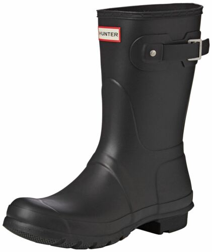Black Hunter Boots Wellington Womens Short Orignal 8wqEHA