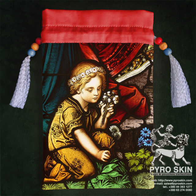 "Silk Tarot bag ""Child"""
