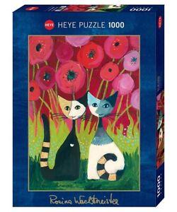 ROSINA WACHTMEISTER - POPPY CANOPY - Heye Puzzle 29900 - 1000 Teile Pcs.