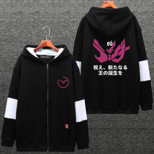 Anime Kamen Rider Masked Rider ZIO Thicken Sweatshirts Hooded Hoodie Jacket TOPs