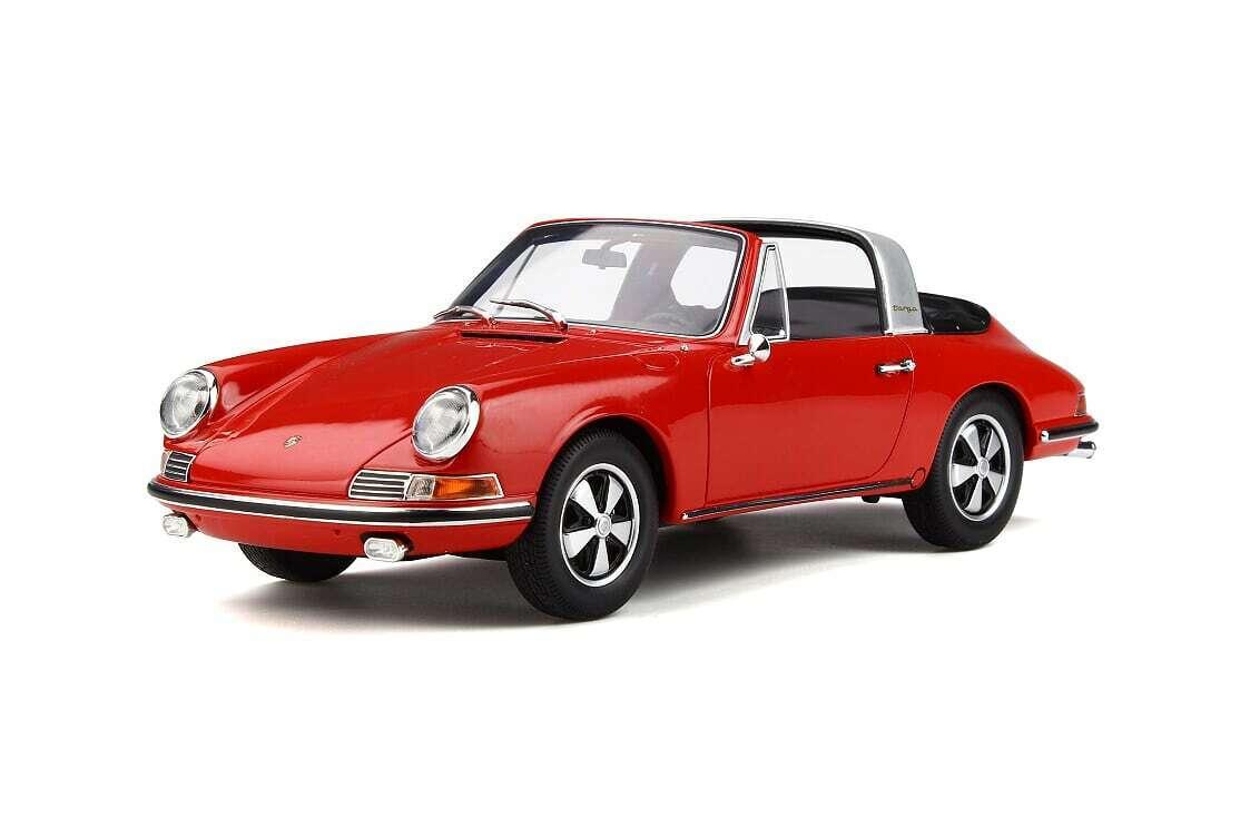 Porsche 911 (901) Targa  Rouge 1 18 resin GT-SPIRIT gt706 NOUVEAU & NEUF dans sa boîte  vente au rabais