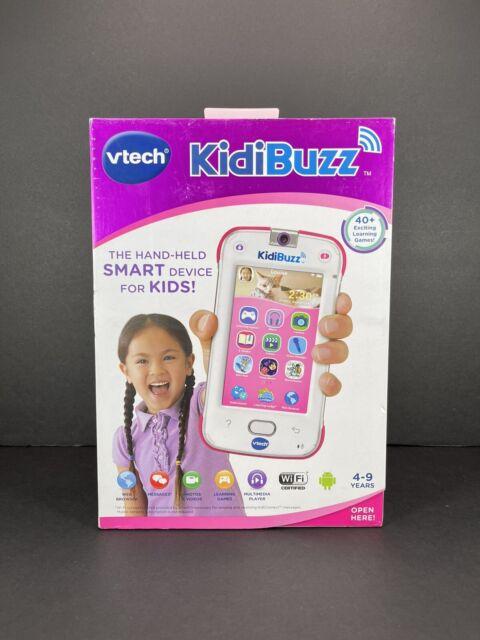 VTech Kidibuzz Handheld Smart Device for Kids Pink Brand New//Factory Sealed