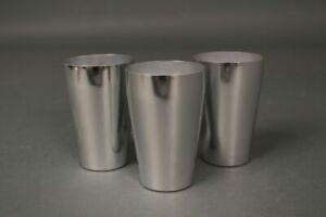 Actif Markill Camping Gobelet Metallbecher Aluminium Aluminium Métal Coupe Argent
