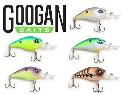 "5//8 OZ Googan Baits Recon Medium Diving Crankbait 2 3//4/"" Select Color"