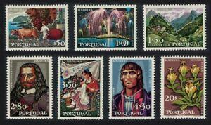 Portugal-Madeira-039-Pearl-of-the-Atlantic-039-7v-1968-MNH-SG-1346-1352