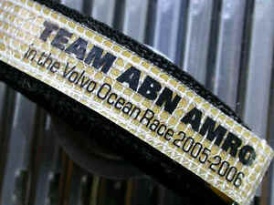 Volvo Ocean Rennen Haken Ösen Tauch Uhrenarmband Band 20mm Winner Abn / Amro Neu