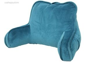 reading pillow with arms Bed Rest Reading Pillow Arms Plush Polyester Fabric Back Support  reading pillow with arms