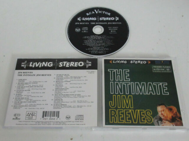 Jim Reeves ‎– The Intimate / Rca - 74321 26048 2 CD Album
