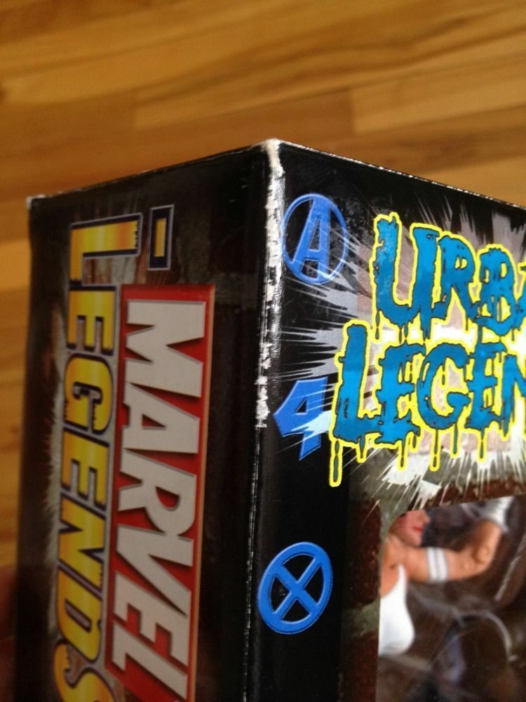 Marvel Marvel Marvel Legends 2003 Urban Legends 4 Figure Set With Comic 3ec8d3