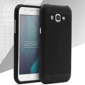 Samsung-Galaxy-j1-2015-Housse-de-Protection-Carbone-Style-Carbone-Optique-TPU-Case-Cover