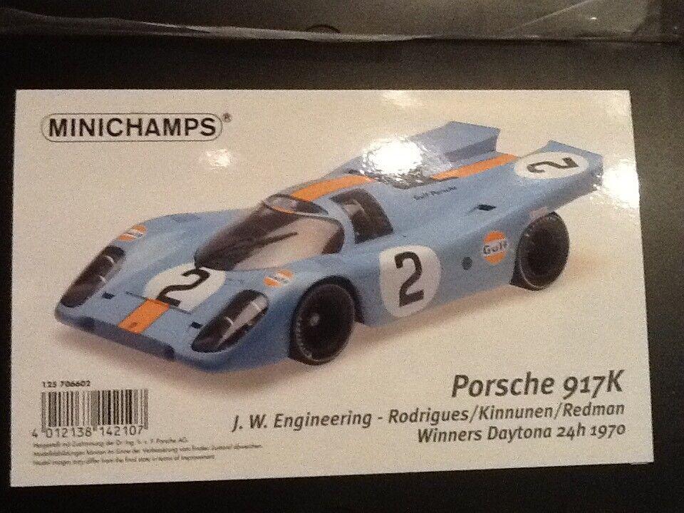 Porsche Porsche Porsche 917 #2 24 H DAYTONA 1970-MINICHAMPS 1:12   De La Mode  ec84c0
