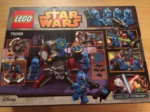 1 von 1 - LEGO StarWars Senate Commando Troopers (75088) ~ NUR KANONE, Karton u. Anl. ~