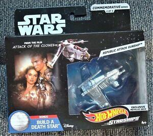 Hot-Wheels-Star-Wars-Commemorative-Series-Republic-Attack-Gunship-Sealed