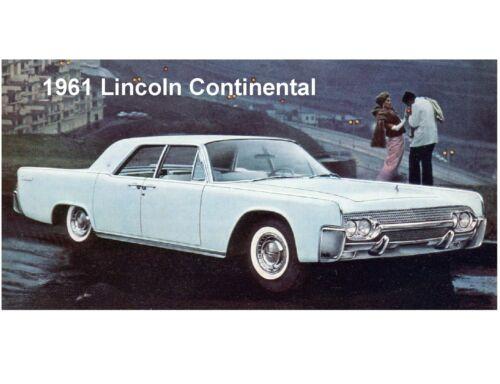 Tool Box  Magnet 1961 Lincoln Continental  Auto Refrigerator
