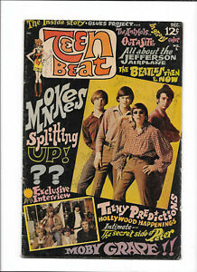 TEEN-BEAT-1-1967-GD-MONKEES-PHOTO-COVER