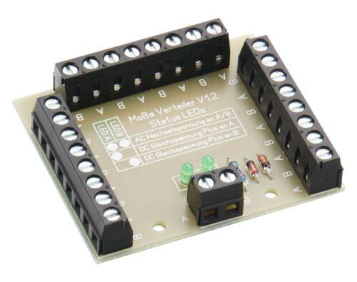 DM425, DM426 Modellbahnverteiler Typ 1 oder Typ 2 für die Spannungsversogung