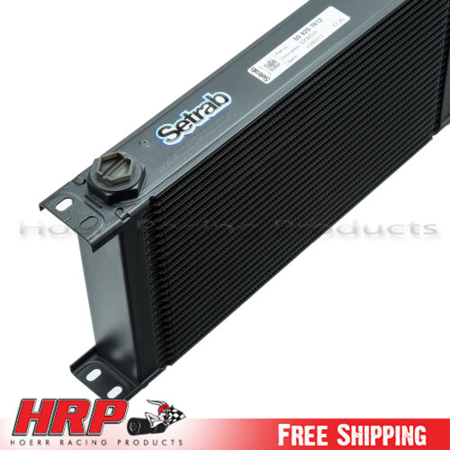 Setrab 50-925-7612 9 Series ProLine Engine Oil Cooler 25 Row with M22 Ports