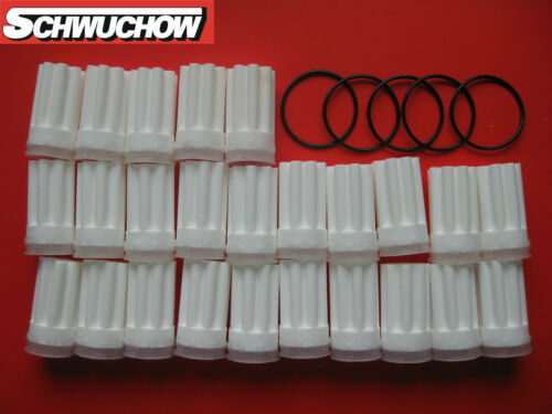 5 O-Ringe Filter weiß Öl Ölfilter Heizölfilter Siku Sinter Stern weiss 25 Stück