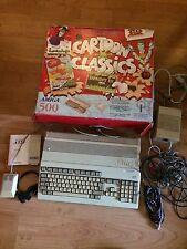 COMMODORE Amiga 500 Cartoon Classics Retrò Bundle non testato