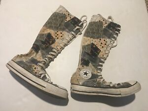 Converse All Star Patchwork Knee High