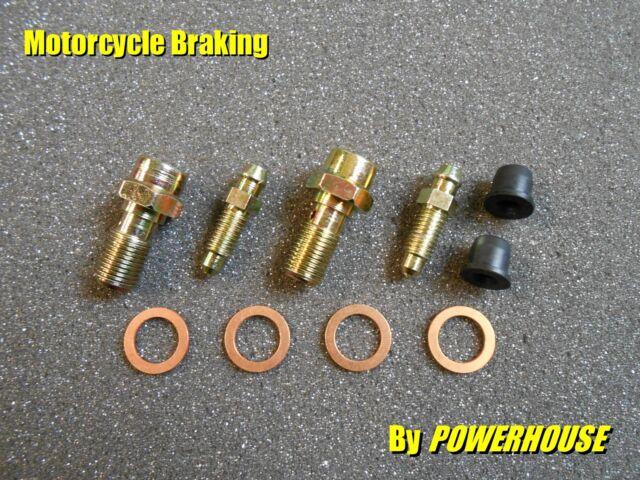 2 x M10 1.0 mm Banjo Bolt & Bleed Screw Radial Brembo Caliper Aprilia KTM Ducati