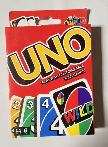 UNO Original Playing Card Game Get Wild 4 Uno Customizable Wild Cards