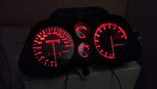 RED CBR1000F HURRICANE 87 - 89  led dash clock conversion kit lightenUPgrade