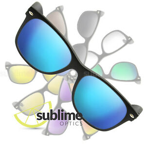84989a0f0d Image is loading POLARIZED-Metallic-Blue-Replacement-Lenses-For-Ray-Ban-