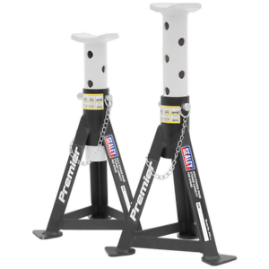 Sealey-AS3-Axle-Stands-Pair-3tonne-Capacity-per-Stand-White