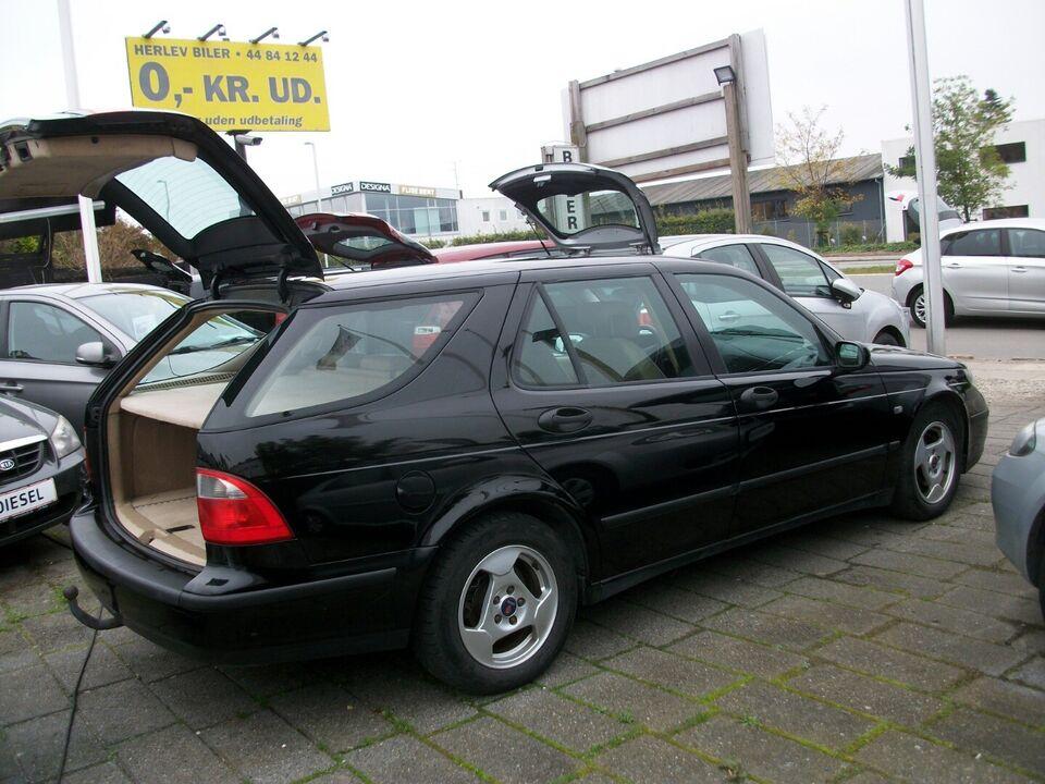 Saab 9-5 2,0 T Linear Estate Benzin modelår 2005 km 408000