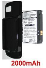 Coque + Batterie 2000mAh type AB653850CE Pour Samsung GT-I7500, GT-I7500H